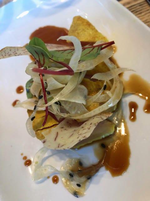 Napa Valley Grille Autumn Menu Turmeric-Crusted Tuna