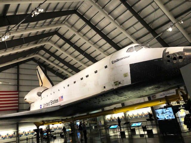 Endeavour Space Shuttle - California Science Center