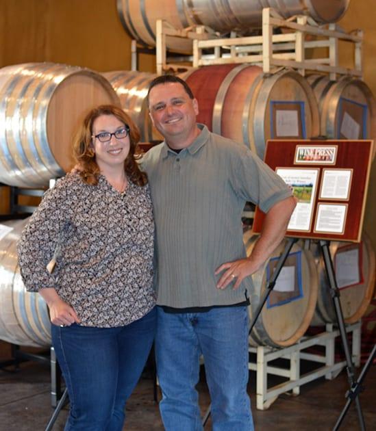David and Sara Spector, Bells Up Winery