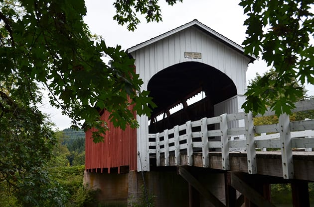 Willamette Valley Currin Covered Bridge Cottage Grove Oregon