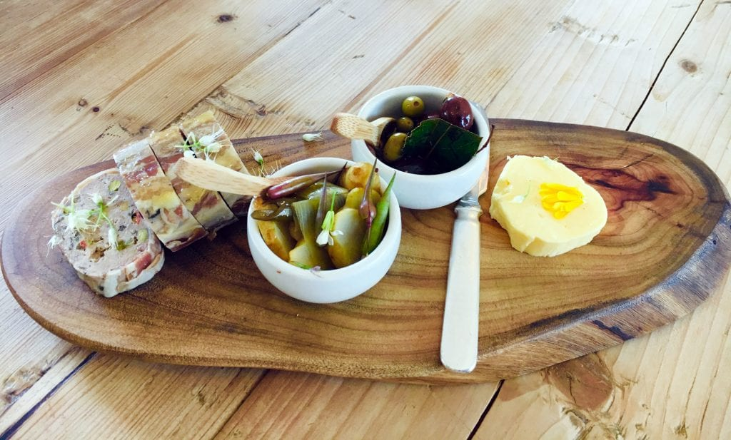 Pate, Pickles and Butter