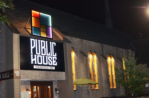 Public House Springfield Oregon