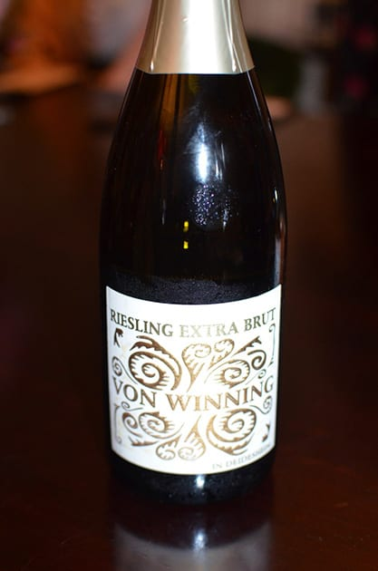German Wine NV Von Winning Riesling Sekt Extra Brut