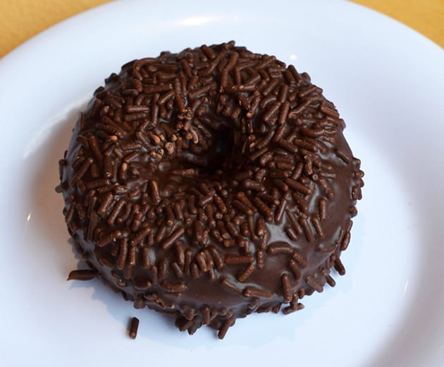 Gluten-Free Bakery Chocolate Donut