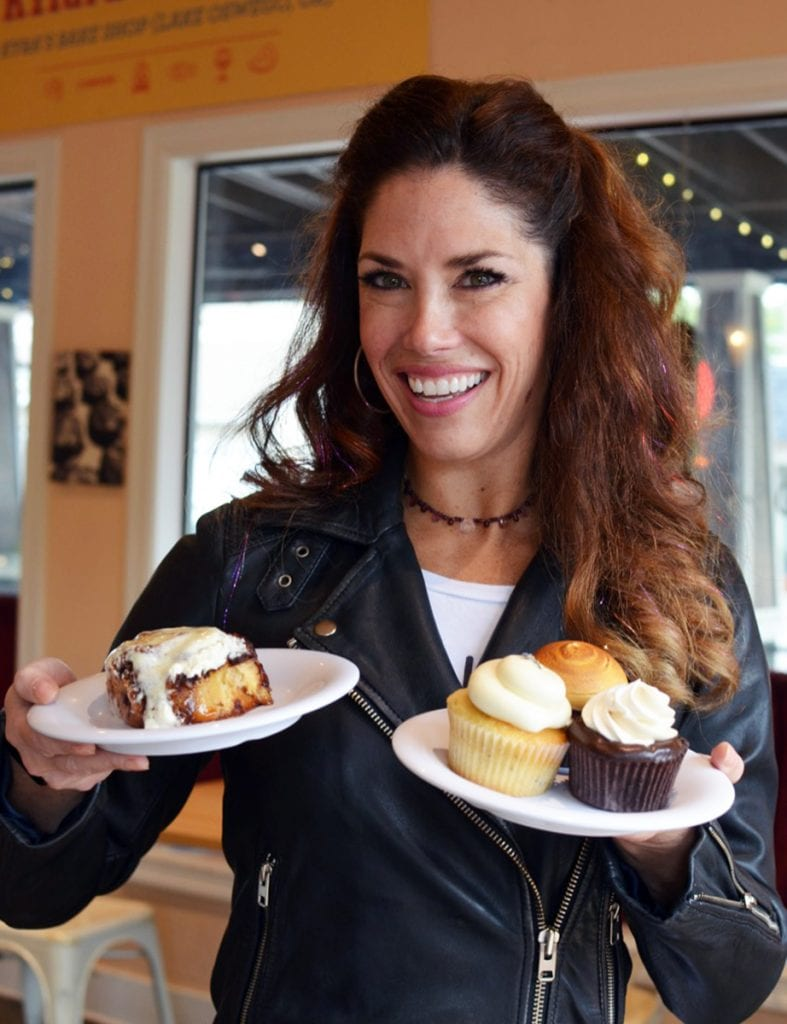 Kyra Bussanich, owner, Kyra's Bake Shop