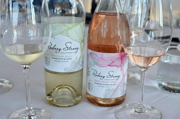 Rodney Strong Rosé and Sauvignon Blanc