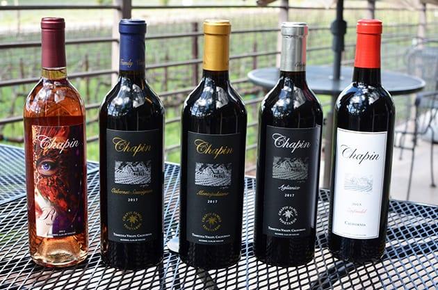 Temecula Winery Chapin Family Vineyards Wine