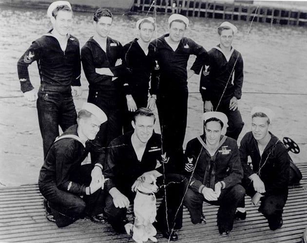 Sugie-Crew members- Besugo SS321 ©USS Bowfin Submarine Museum & Park
