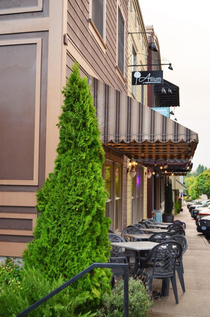 Allium Restaurant in West Linn