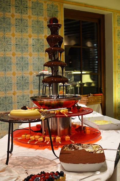 Chocolate Fondue - Hotel Adler