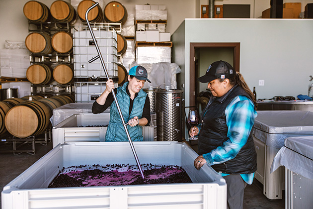 In the Winery ©Craft and Cluster