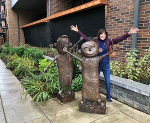 Lake Oswego Sculpture with Cori Solomon