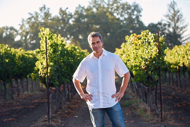 Winemaker Stephane Vivier