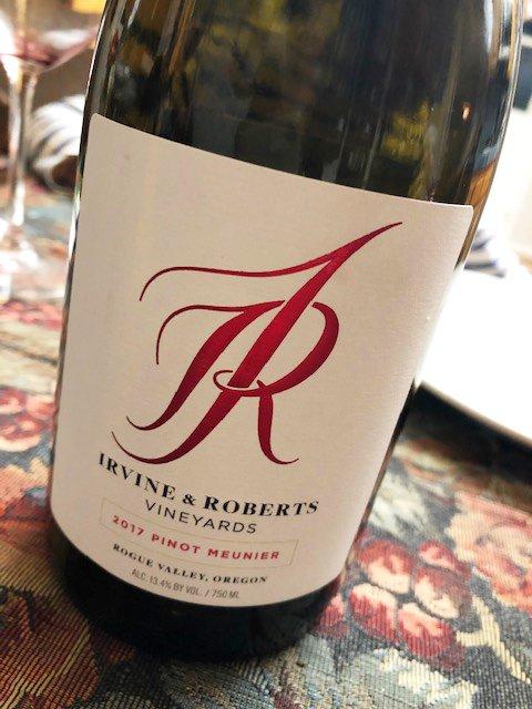 Irvine & Roberts Vineyards Pinot Meunier