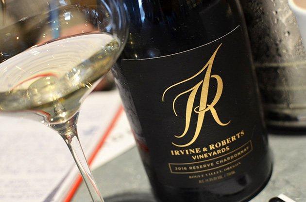 Irvine & Roberts Vineyards Reserve Chardonnay