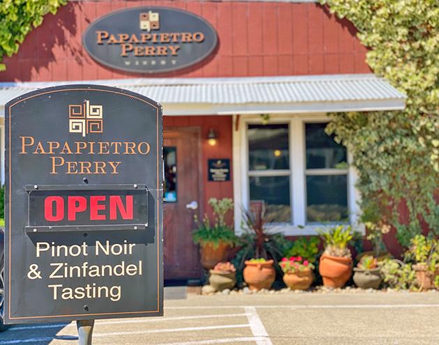 Papapietro Perry Winery Tasting Room
