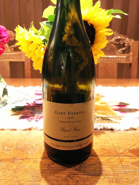 Gary Farrell Pinot Noir Hallberg Vineyard Dijon Clones