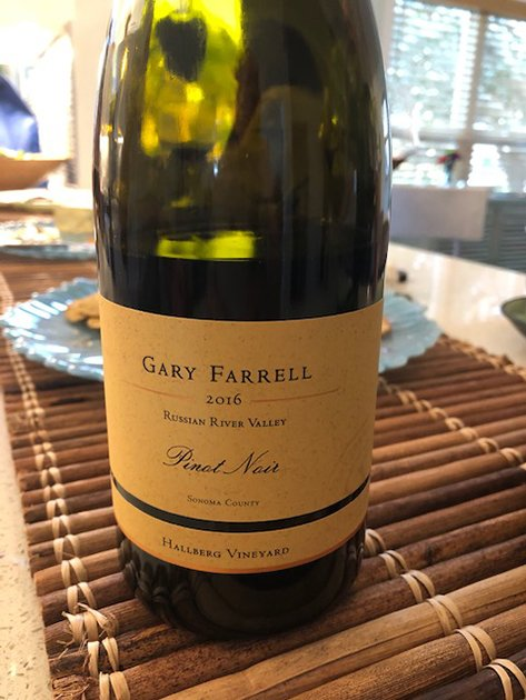 Gary Farrell Pinot Noir Hallberg Vineyard