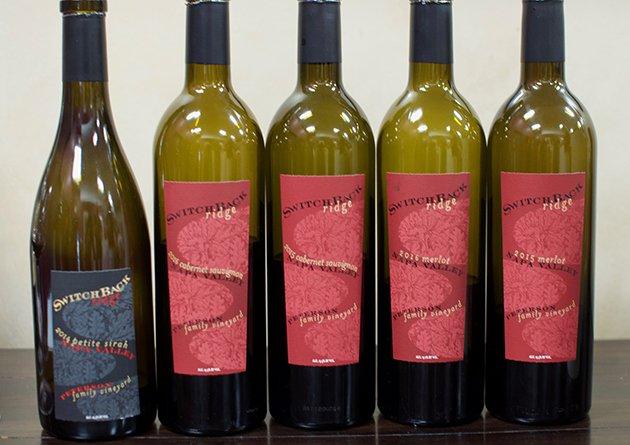Switchback Ridge Wines - Grand Reserve Wine Credit Card