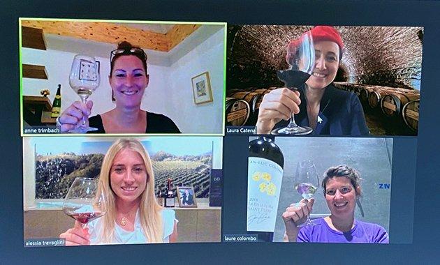 Women In Wine - Virtual Tasting
