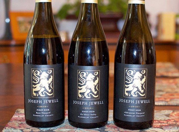 Joseph Jewell Humboldt County Pinot Noir