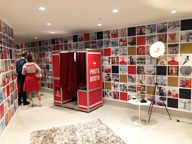 TWA Photo Booth Room