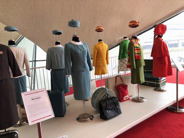 TWA Flight Attendant Uniform Gallery