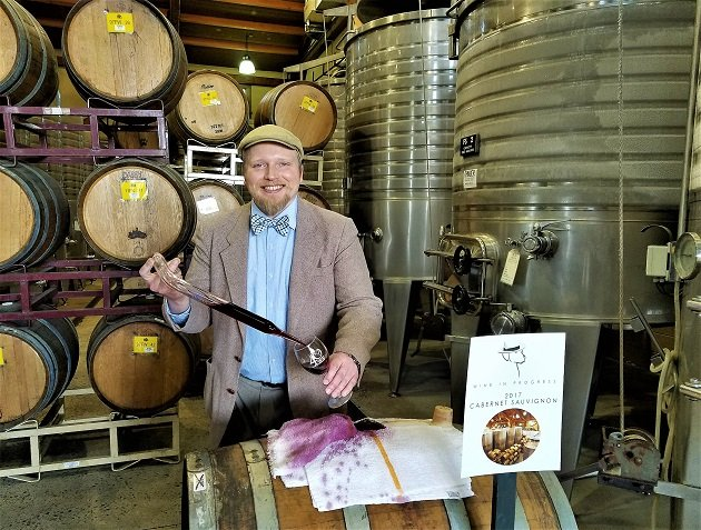 Chateau Morrisette Winemaker Jason Crolley
