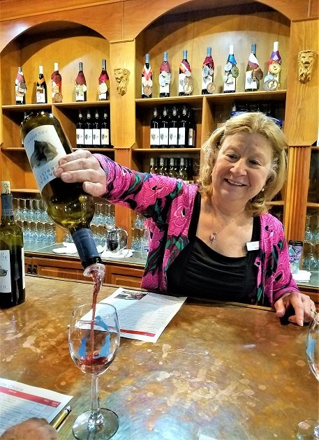 Wine tasting with Janet Snyder
