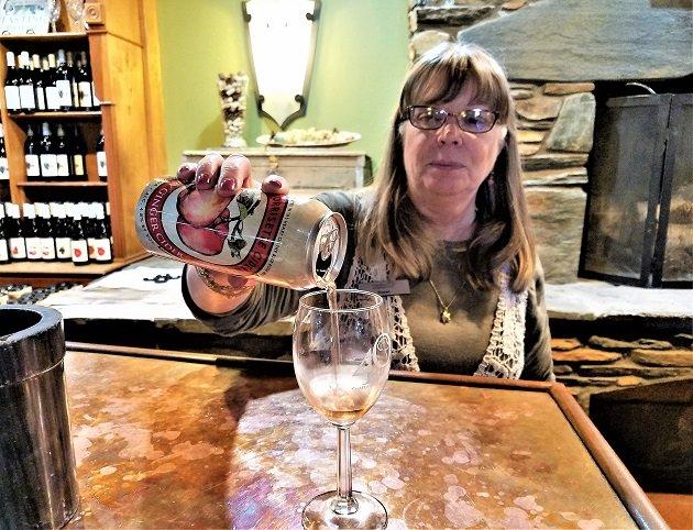 Susan Rilee Sampling Cider
