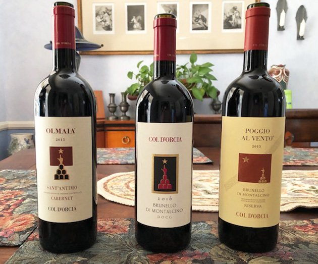 Col d'Orcia Wines