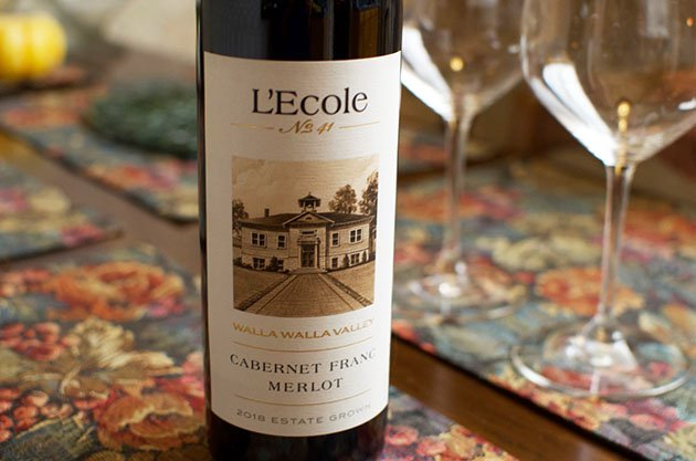 Washington Wine Month - L'Ecole No 41 Cabernet Franc Merlot