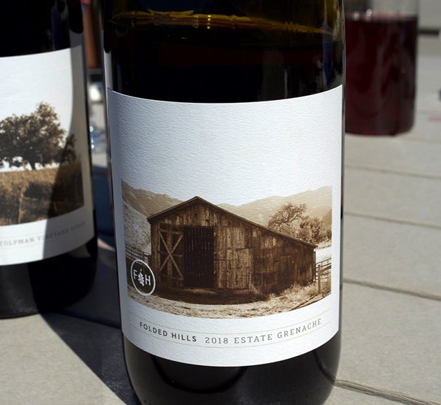 Folded Hills Winery Estate Grenche