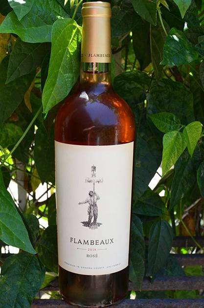 Flambeaux Wine Rose