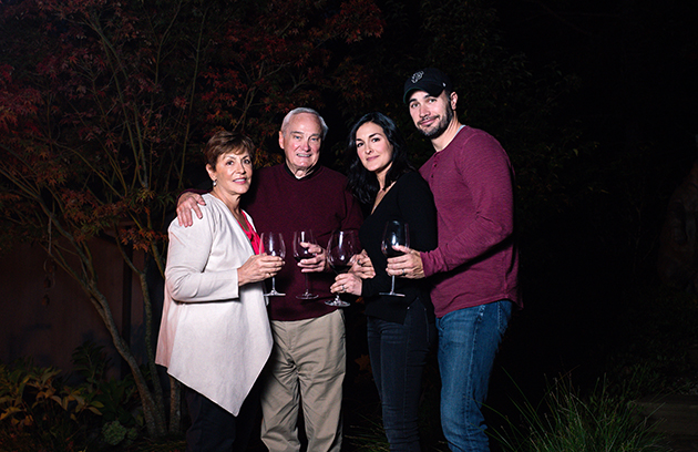 Murray Family Pattie, Steve, Nicole, Art