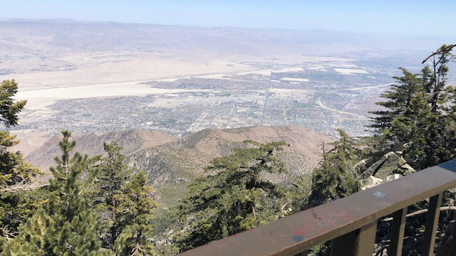 Aerial View Palm Springs