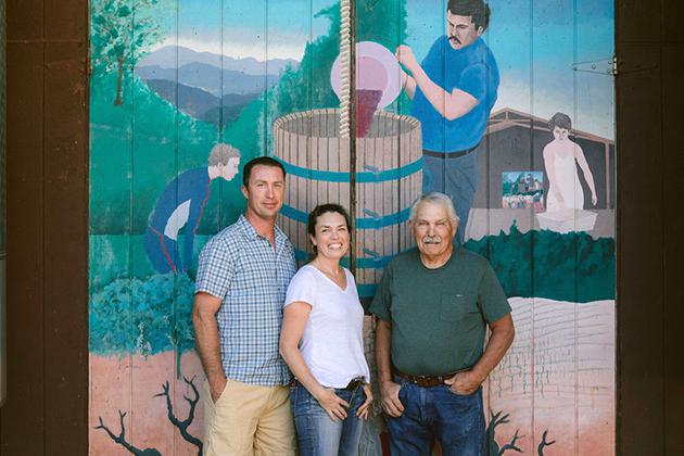 Summit Lake Vineyards Brakesman Family