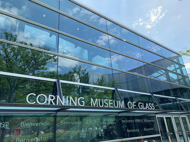 Corning Museum of Glass. Photo Courtesy of Debbra Dunning Brouilette