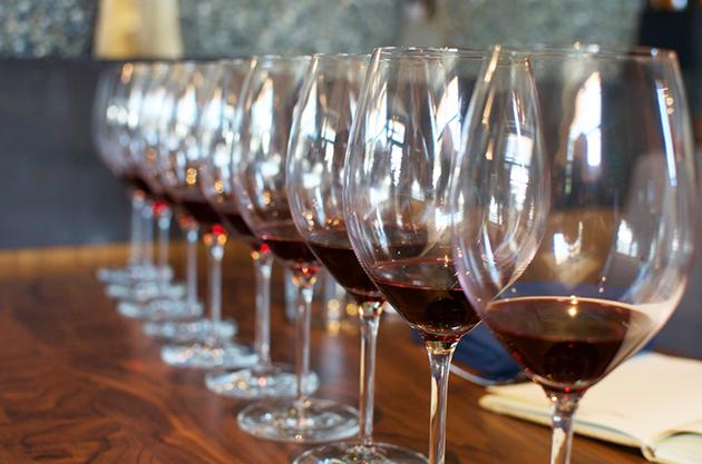 Glasses of La Rioja Alta Reds