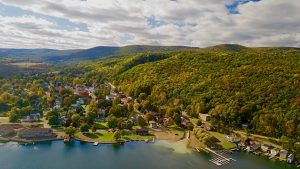 Finger Lakes Keuka Lake and Vineyard ©Luke Petromec