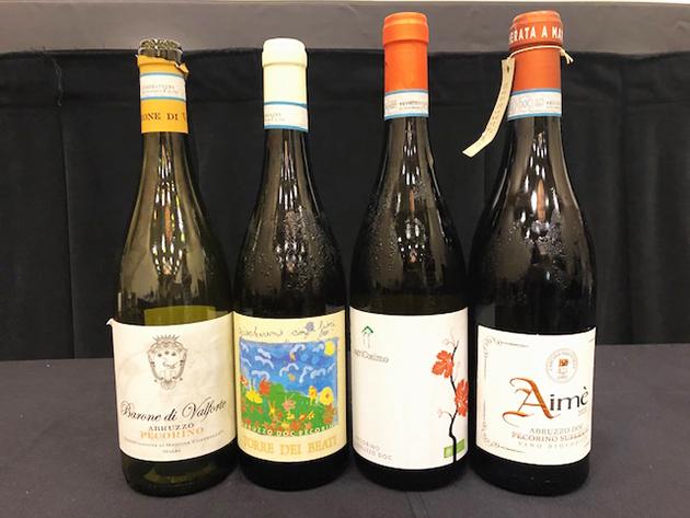 Abruzzo Wines with Pecorino Grape