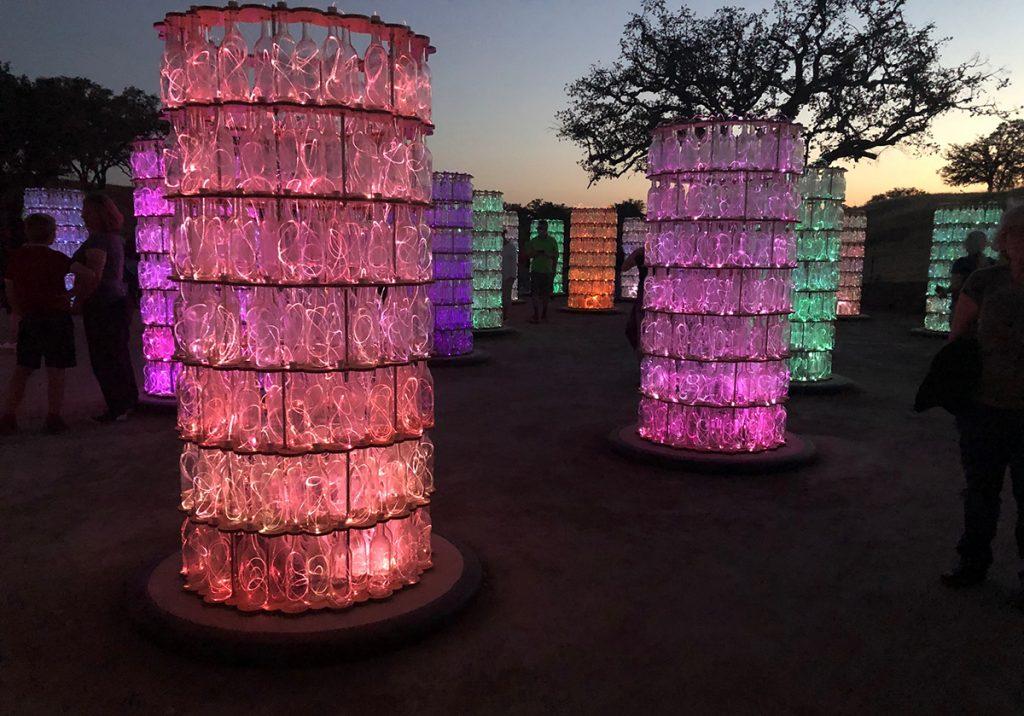 Sensario Light Towers ©Cori Solomon