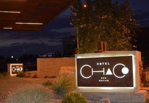 Hotel Chaco Front Entrance © Cori Solomon