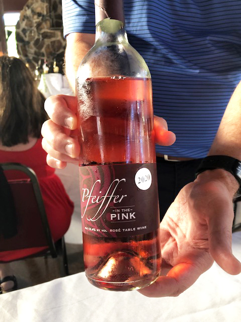Pfeiffer Winery In The Pink Rose