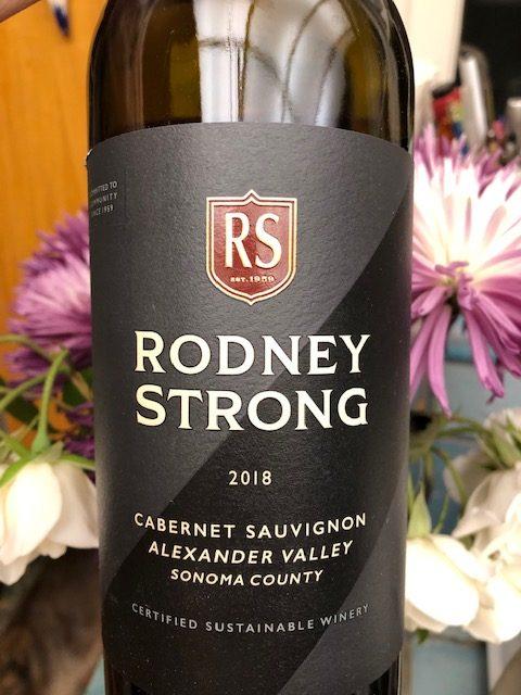 Rodney Strong Cabernet Sauvignon Alexander Valley