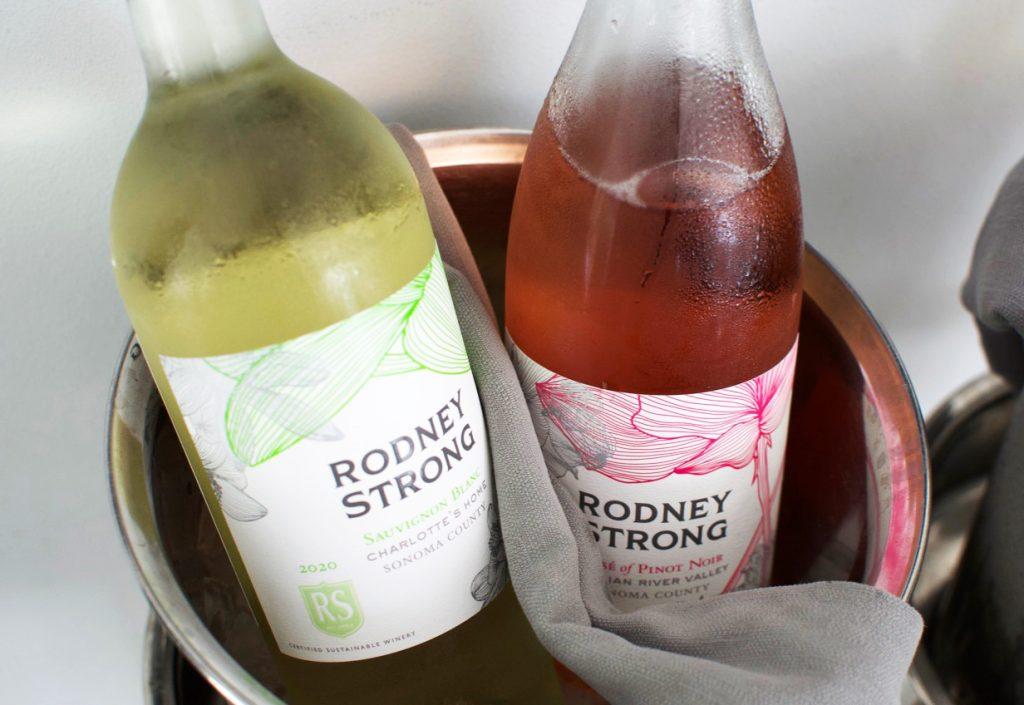 Rodney Strong Sauvignon Blanc and Rosé