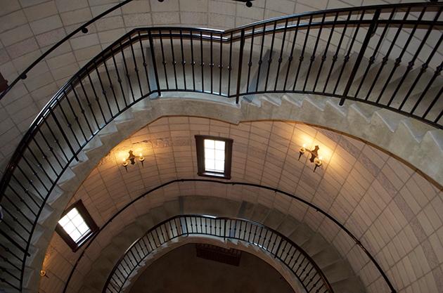 Dierberg Star Lane Winery Stairs